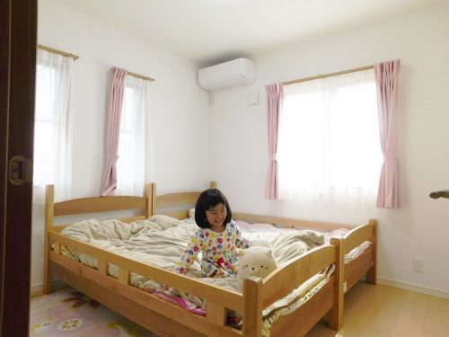 寝室施工例