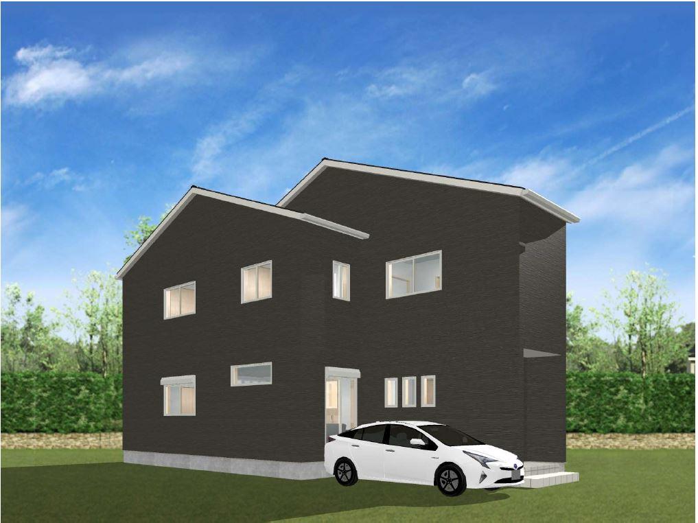 二階建て建築プラン