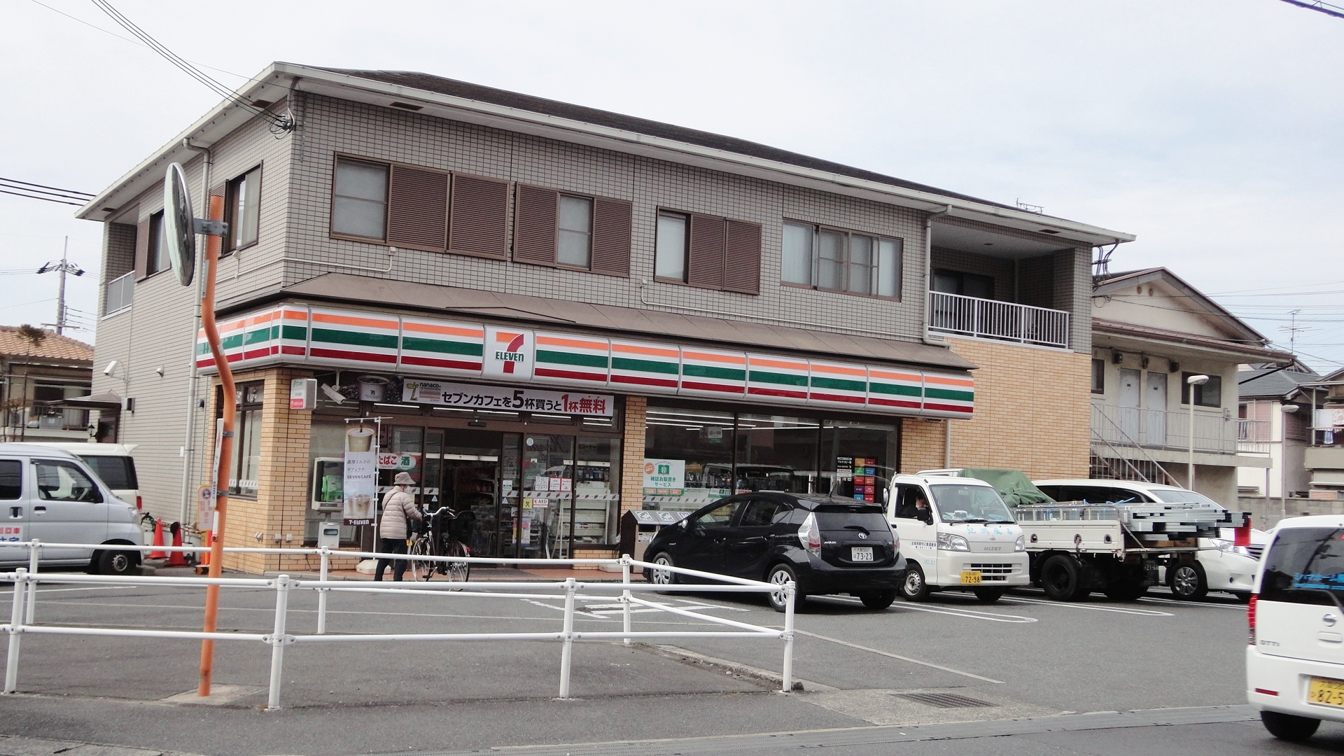 セブンイレブン枚方津田駅前店
