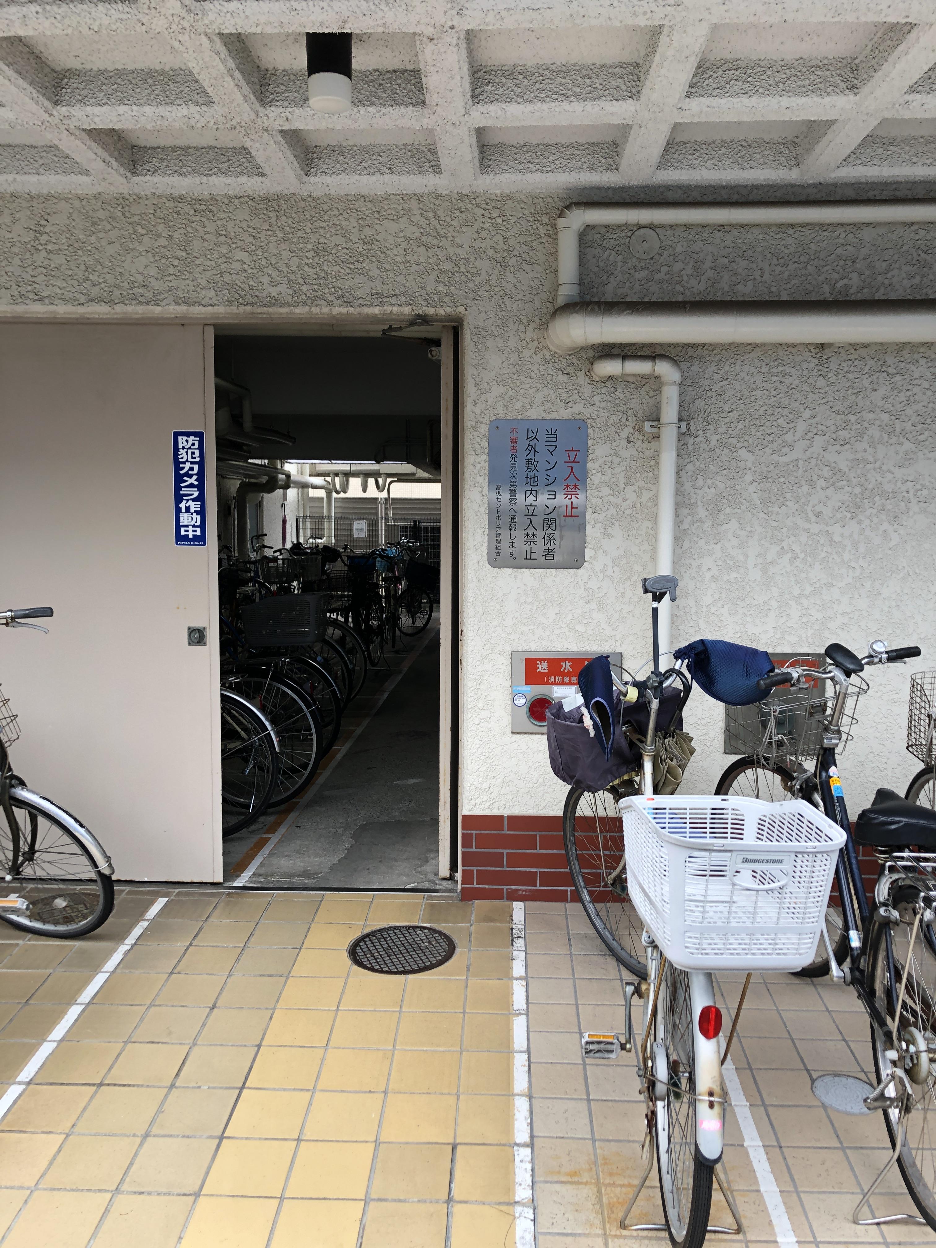 駐輪場・バイク置き場あります
